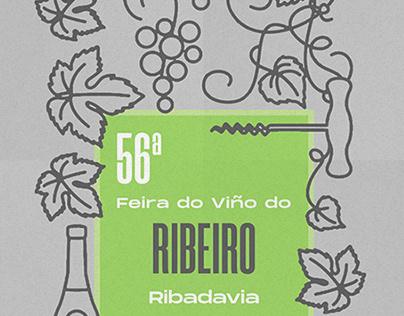 Wine Poster. Ribeiro 2019.