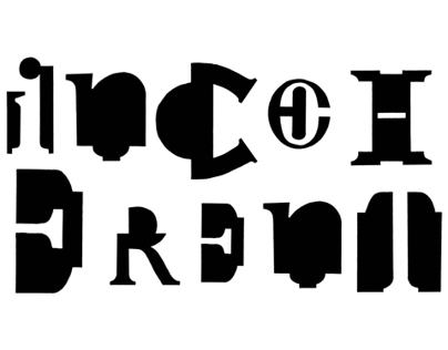 'Inconherent' A Typeface
