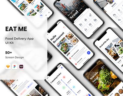 EAT ME - Food Delivery App UI Kit