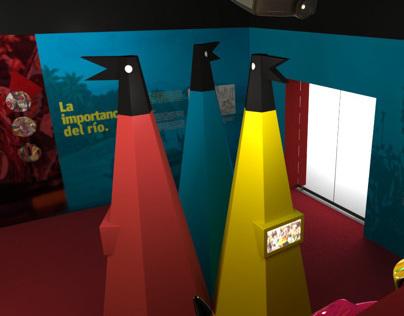 Diseño Sala del Carnaval.