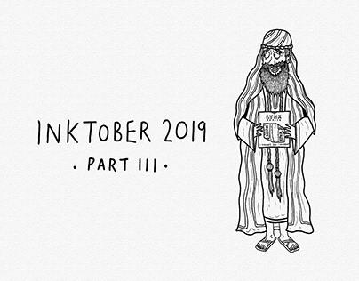 Inktober 2019 [Part III]   Ink Drawings