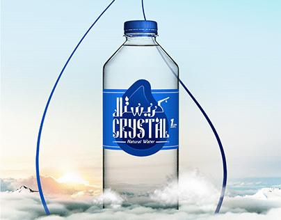 CRYSTAL WATER - Brand Identity