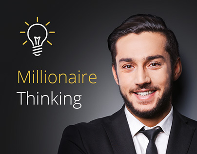 Training Millionaire thinking: landing page design