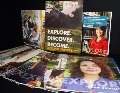 Advertising - Adelphi University Recruiting Materials