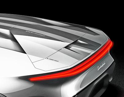 Sketch Lamborghini