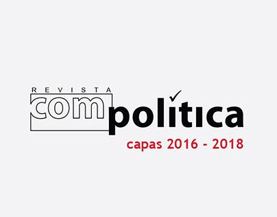 Revista Compolítica   Capas 2016 - 2018