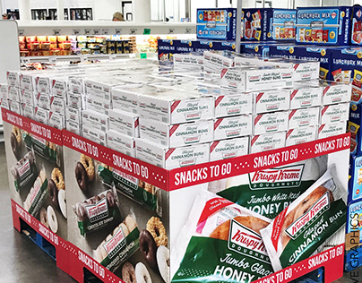 Krispy Kreme Pallet Display