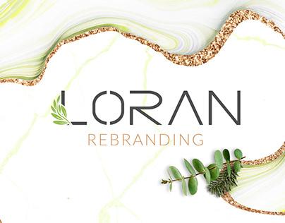 LORAN | Rebranding