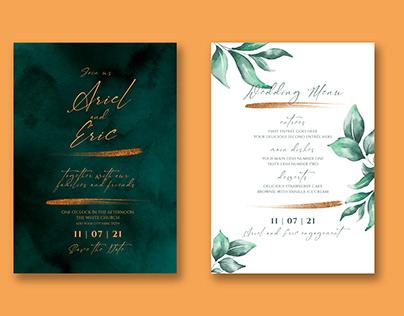 Wedding Invitaion Card