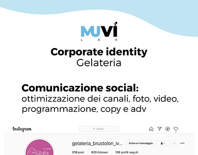 Corporate Identity - Gelateria