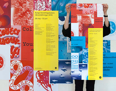 Royal Institute of Art – Exhibition Identity