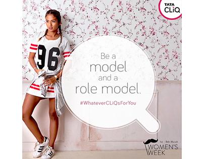 Tata CLiQ- Women's day campaign