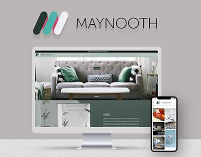 Maynooth Furniture - UI/UX Design - Adobe XD