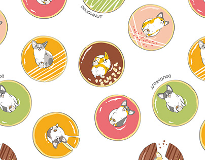 Corgis and sparrows and donuts