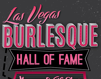 Poster for Burlesque Hall of Fame Museum
