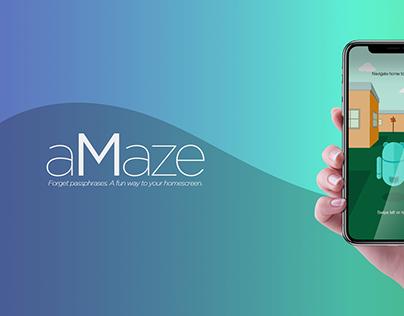 aMaze | Fun intuitive Login