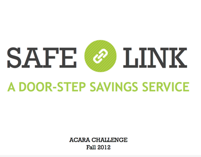 SafeLink: A BoP Door-Step Savings Service