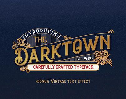 Darktown Vintage Decorative Font