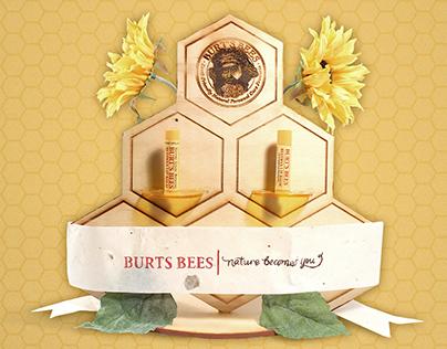 Burt's Bees Chapstick Display