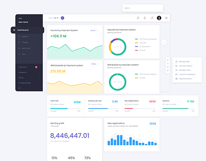 BACK OFFICE | Dashboard Payment System