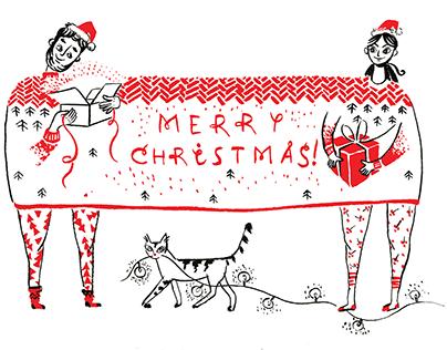 Christmas cards collection - Christmas together