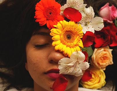 Ensaio Fotográfico: As flores que existem em você