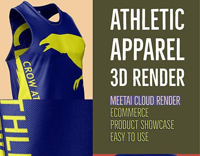 Athletic Apparel 3D Render
