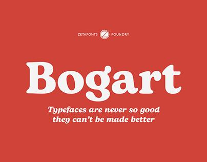 Bogart Typefaces