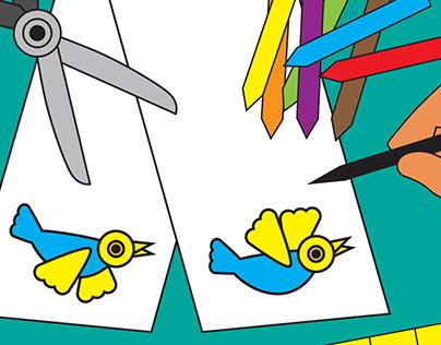 "Making a Paper ""Flip-Strip"" Animation"