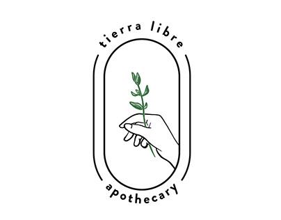 Tierra Libre Apothecary Branding