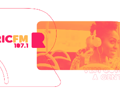 Identidade Visual e Marca (logotipo) RICFM - GRUPO RIC