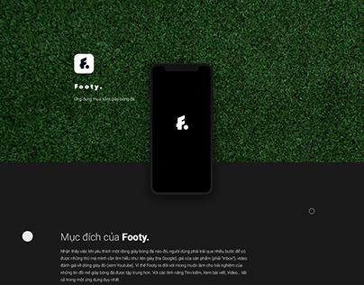 Footy App / The Loc