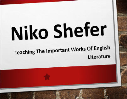 Niko Shefer - Time in London Well-Spent