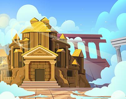 Zeus World Game Art
