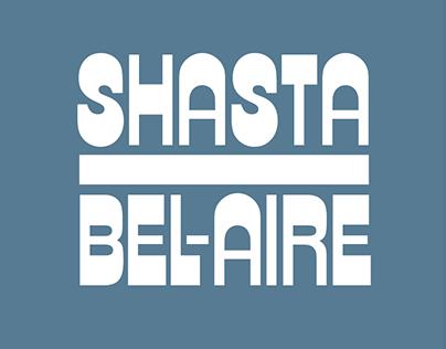 SHASTA BEL-AIRE | Band Logo