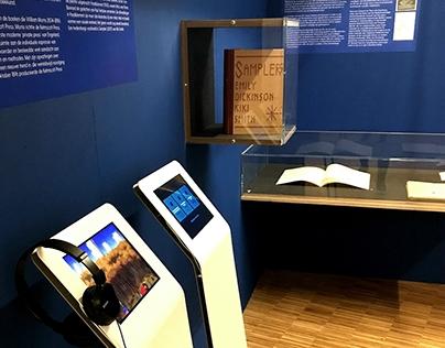 Apps voor expositie over kunstenaarsboeken