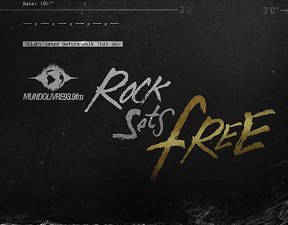 Rock sets free