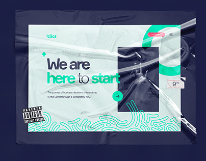 +Clics . Concept . Design system