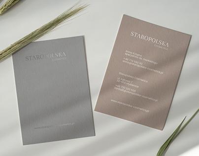 Staropolska Cosmetics - Branding