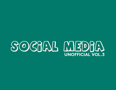Social Media (unofficial Vol.3)