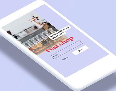 Tsaa Shop - Online Tea Shop
