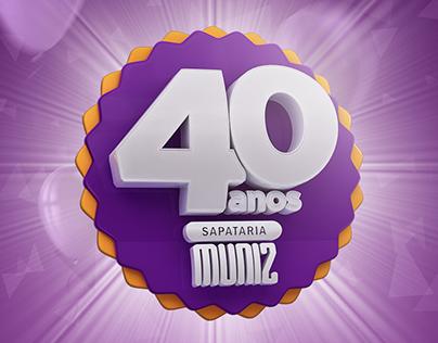 Sapataria Muniz | campanha de aniversário
