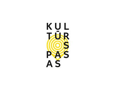 'Kultūros pasas' logo proposition