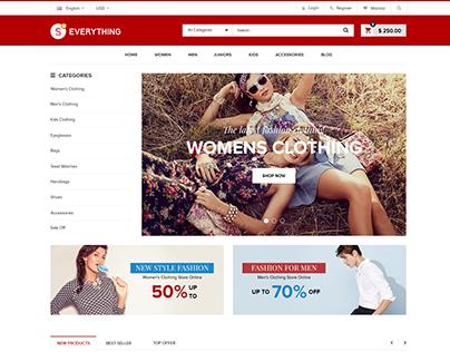 Shopify theme & Magento theme for Fashion New #6