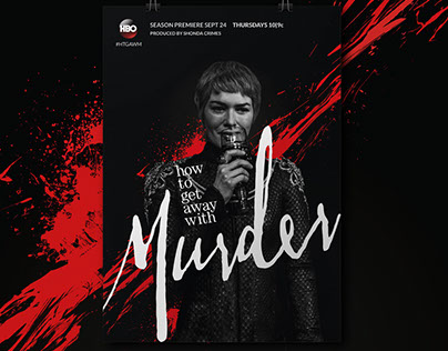 How to GOT Away With Murder | Poster remix