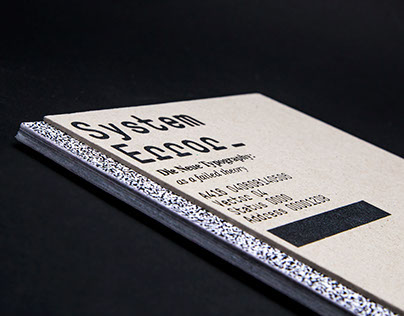 System Error—Catalogue/Exhibition/Editorial Design
