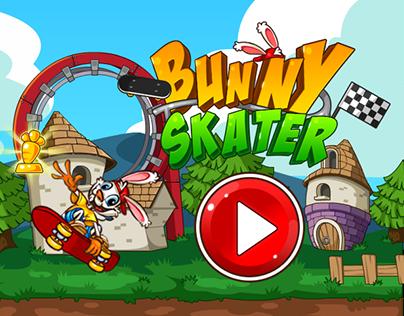 Bunny Skater UI Design