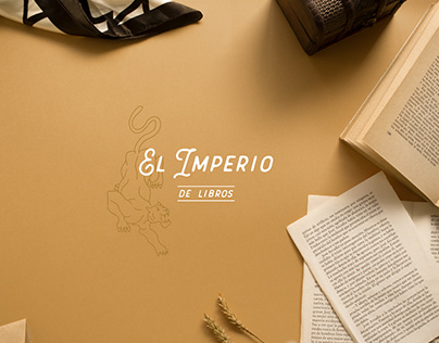 Branding & Illustration Bookstore Imperio