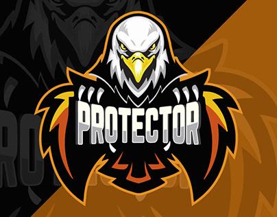 Protector mascot logo