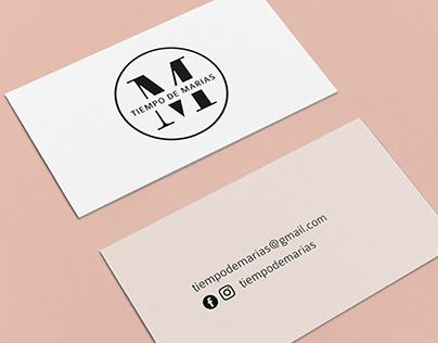 Tiempo de Marías - Branding - Logo design